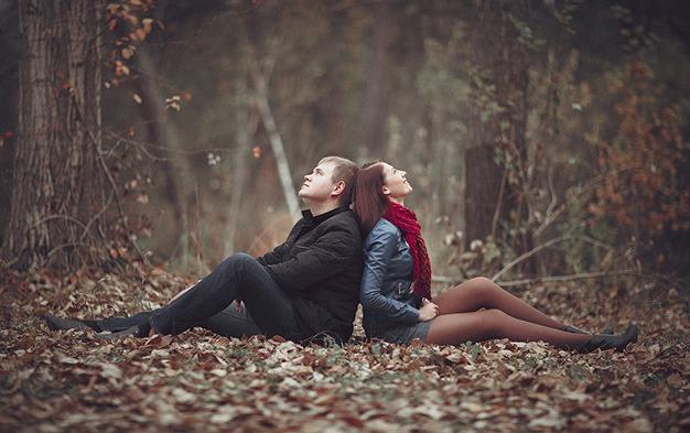 фотосессия знакомства влюбленной пары